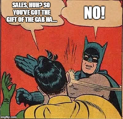 So you're in sales? Time to get taken seriously? Guest Blog by APS