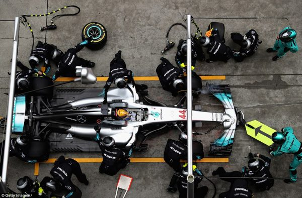 Even Lewis Hamilton needs Pit Stops